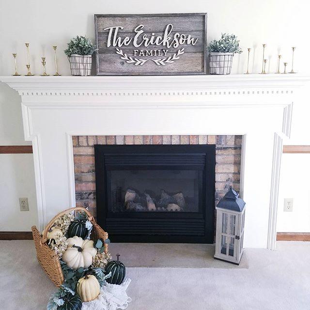 Fall Fireplace Decor Fireplace Decor Fall Fireplace Decor Fall