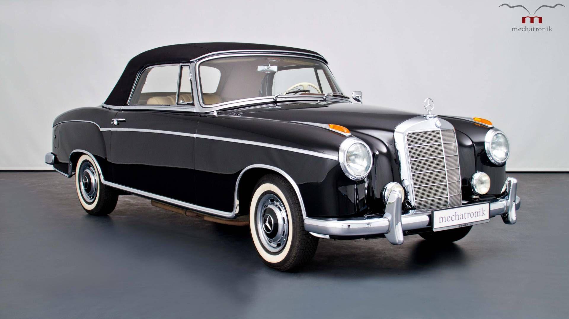 Mercedes-Benz 220 SE Cabriolet A/C - | Classic Car | Pinterest ...