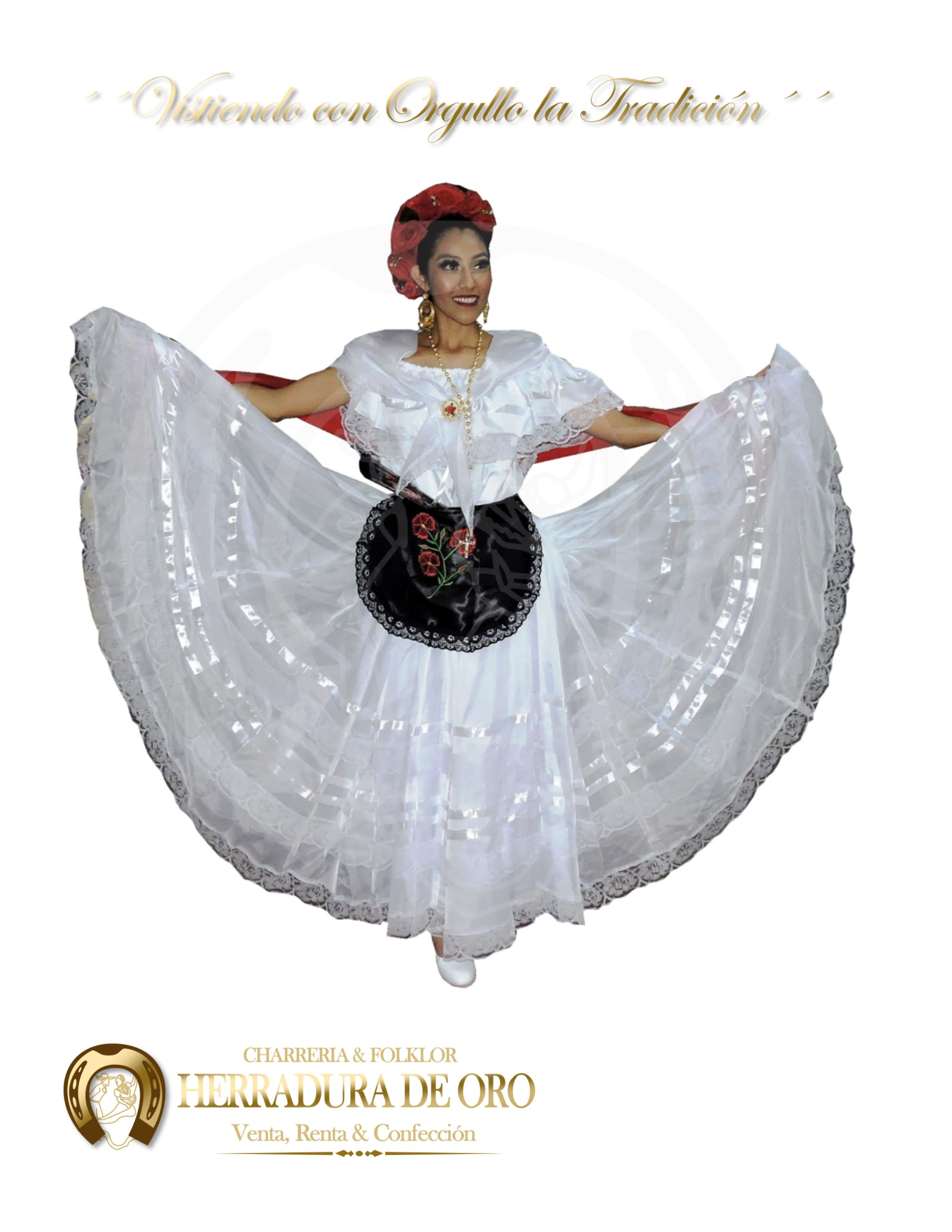 Traje Folklorico Del Estado De Veracruz 0341 Venta Renta Y