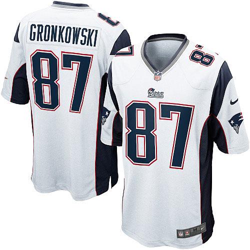 rob gronkowski jersey white