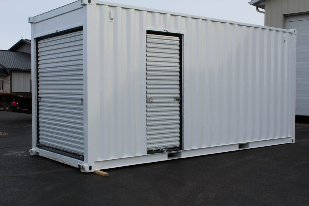 Container Garage custom modified container container modifications container