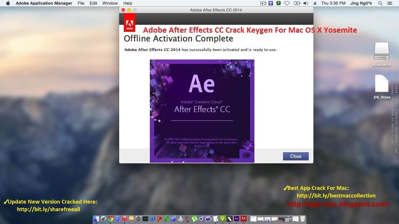 after effects cc 2014 crack mac