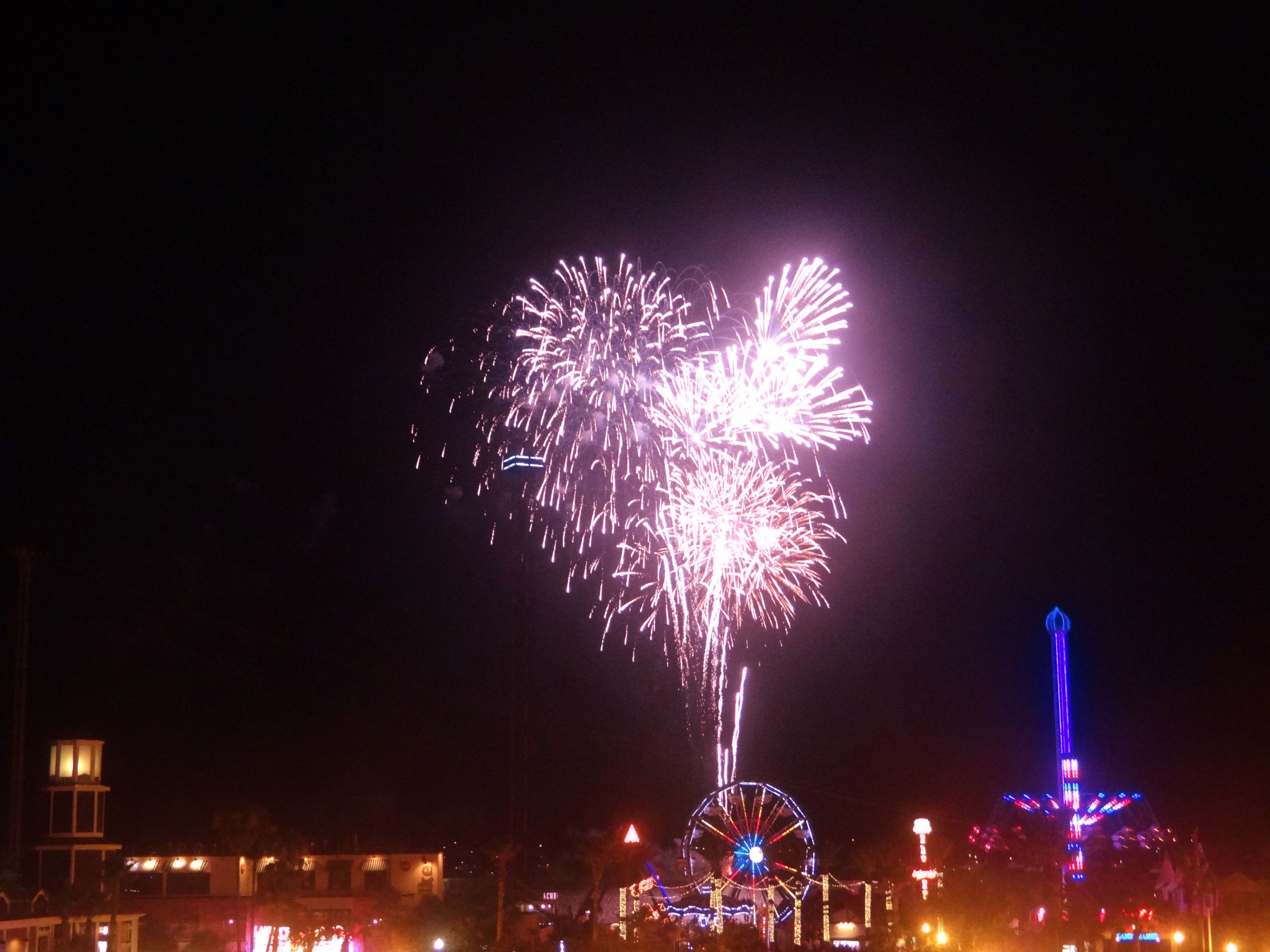 Fireworks Over The Kemah Boardwalk Every Friday In The Summertime