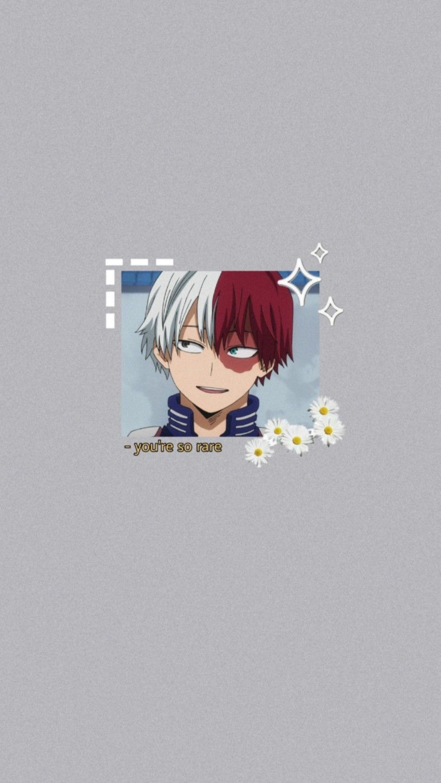 Boku No Hero Academia Todoroki Shouto Wallpaper Hero Wallpaper Anime Wallpaper Aesthetic Anime