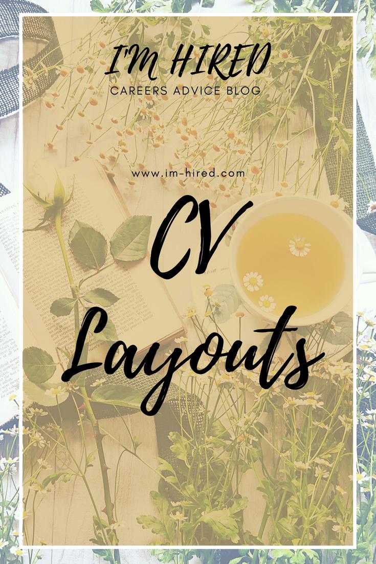 CV Layouts   Creative, Career advice and Layouts