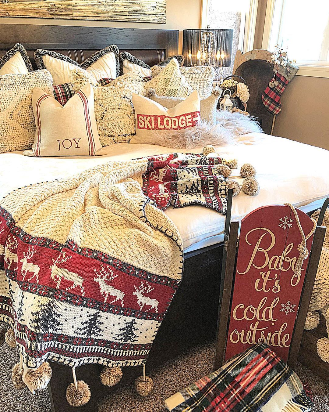 Sunday Swipe Thru Over The Winter Months When The Temperature Drops And The In 2020 Winter Bedding Bed Linens Luxury Winter Cozy