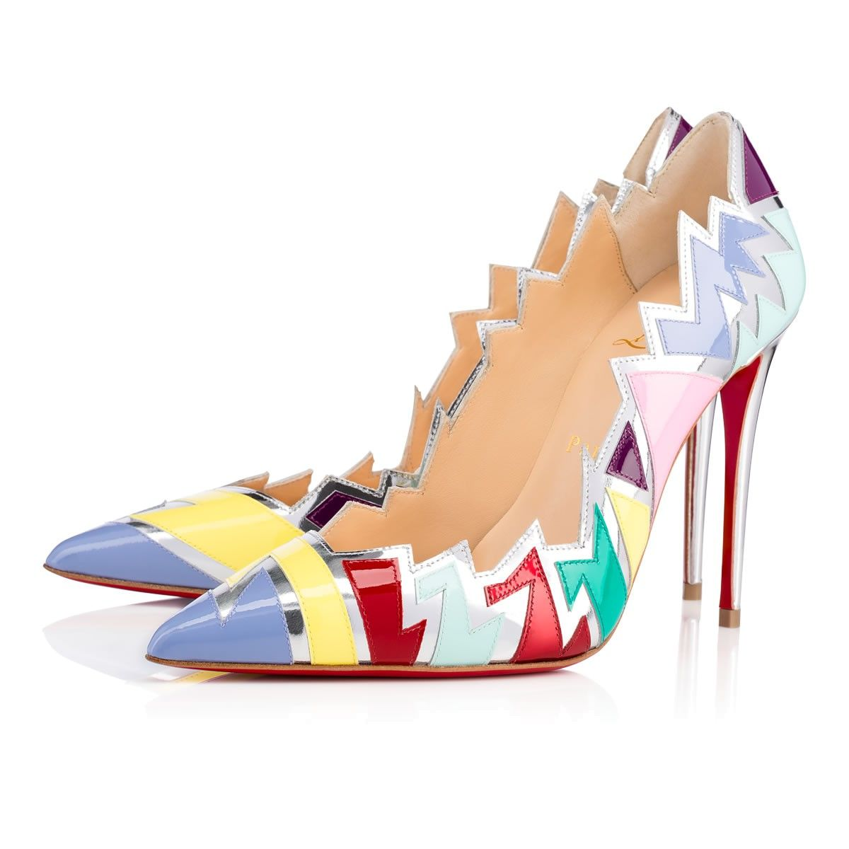 CHRISTIAN LOUBOUTIN Explotek 100 Version Lavander Patent Leather - Women  Shoes - Christian Louboutin. #