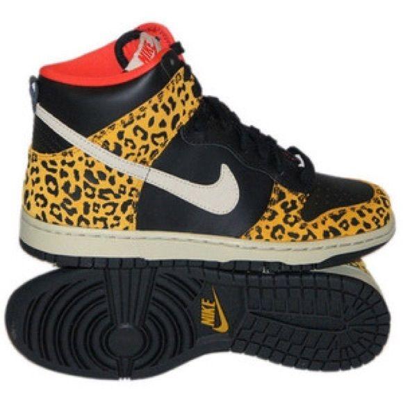 nike leopard high dunks