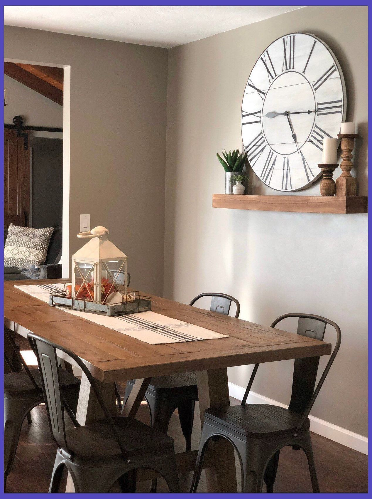 Tips For Decorating Your Dining Room Room Decor Ideas Dining Room Small Dining Room Clock Dining Room Wall Decor