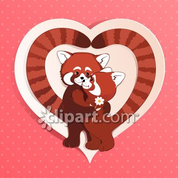 Clipart Com Closeup Royalty Free Image Of Amour Animal Art Backdrop Background Card Cartoon Characte Valentines Day Cartoons Backdrops Backgrounds Animal Art