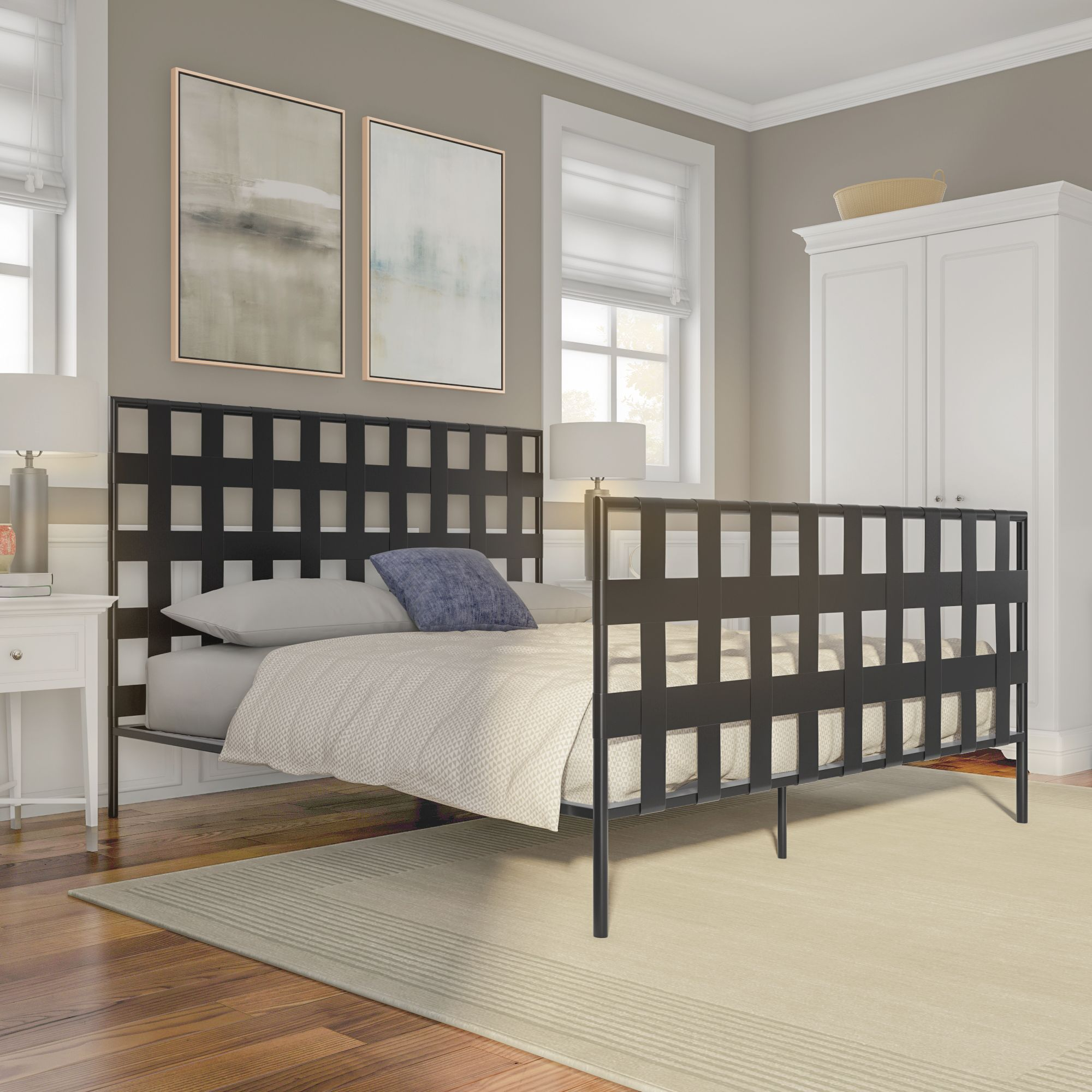 Home Furniture of america, Industrial platform beds