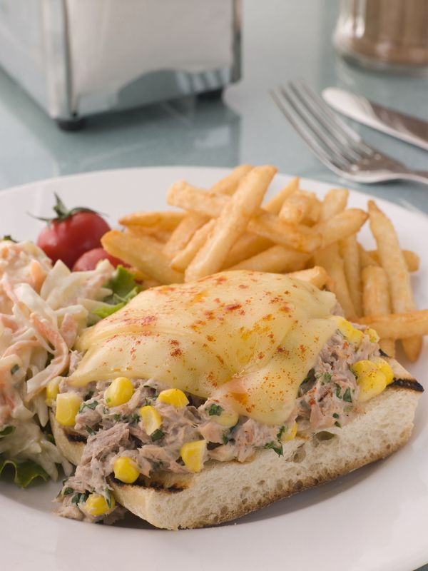 Sandwich Recipe: Open-Faced Tuna Melt