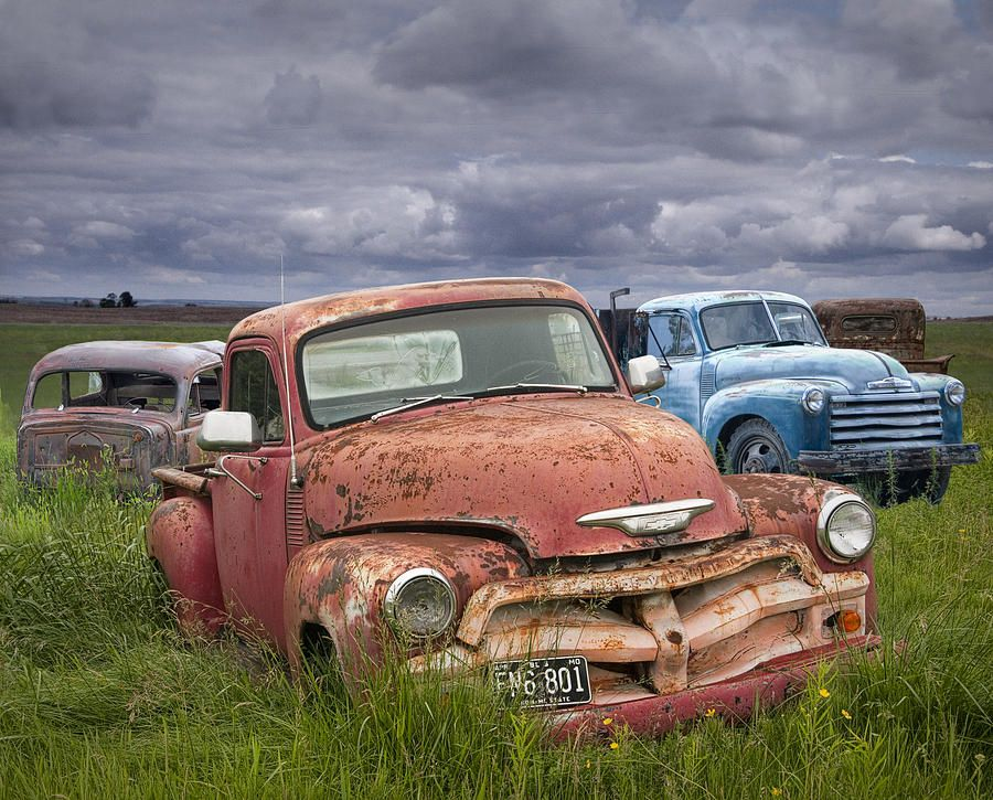 Vintage Auto Junk Yard Chevy Abandoned Cars And Cars