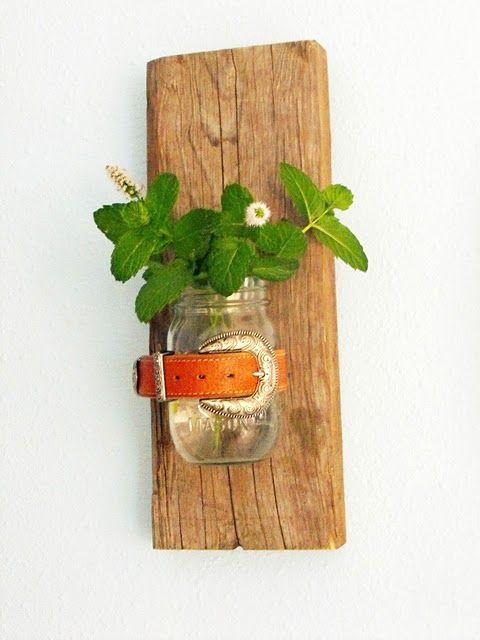 Hanging Wall Vase Tutorial - Beth