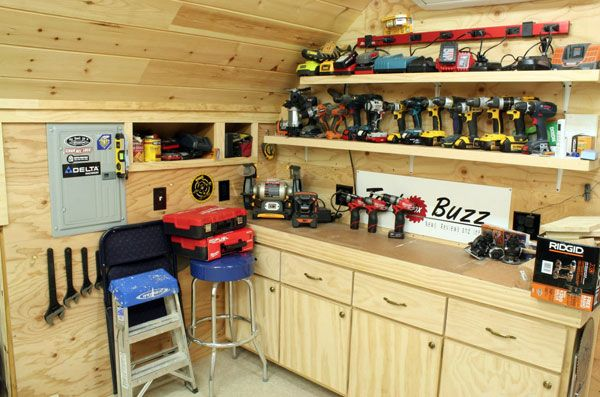 Home Workshop Ideas
