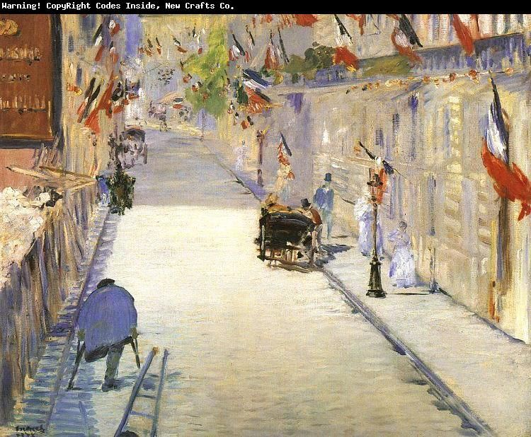 The paintings of Edouard Manet