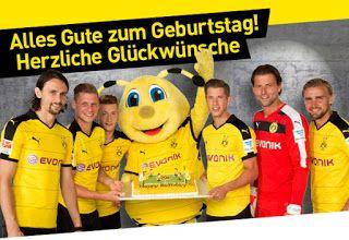 Happy Birthday From Borussia Dortmund Borussia Dortmund