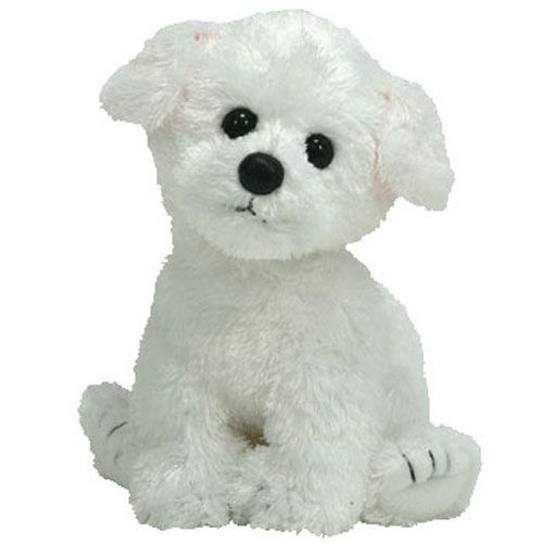 a0bf584ea85 TY Beanie Baby - CARGO the White Dog (6 inch)