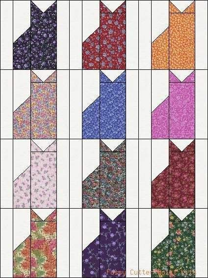Calico Cat Quilt Pattern | Calico Kitty Cats Kittens Grab Bag of ... : pre cut quilt blocks - Adamdwight.com