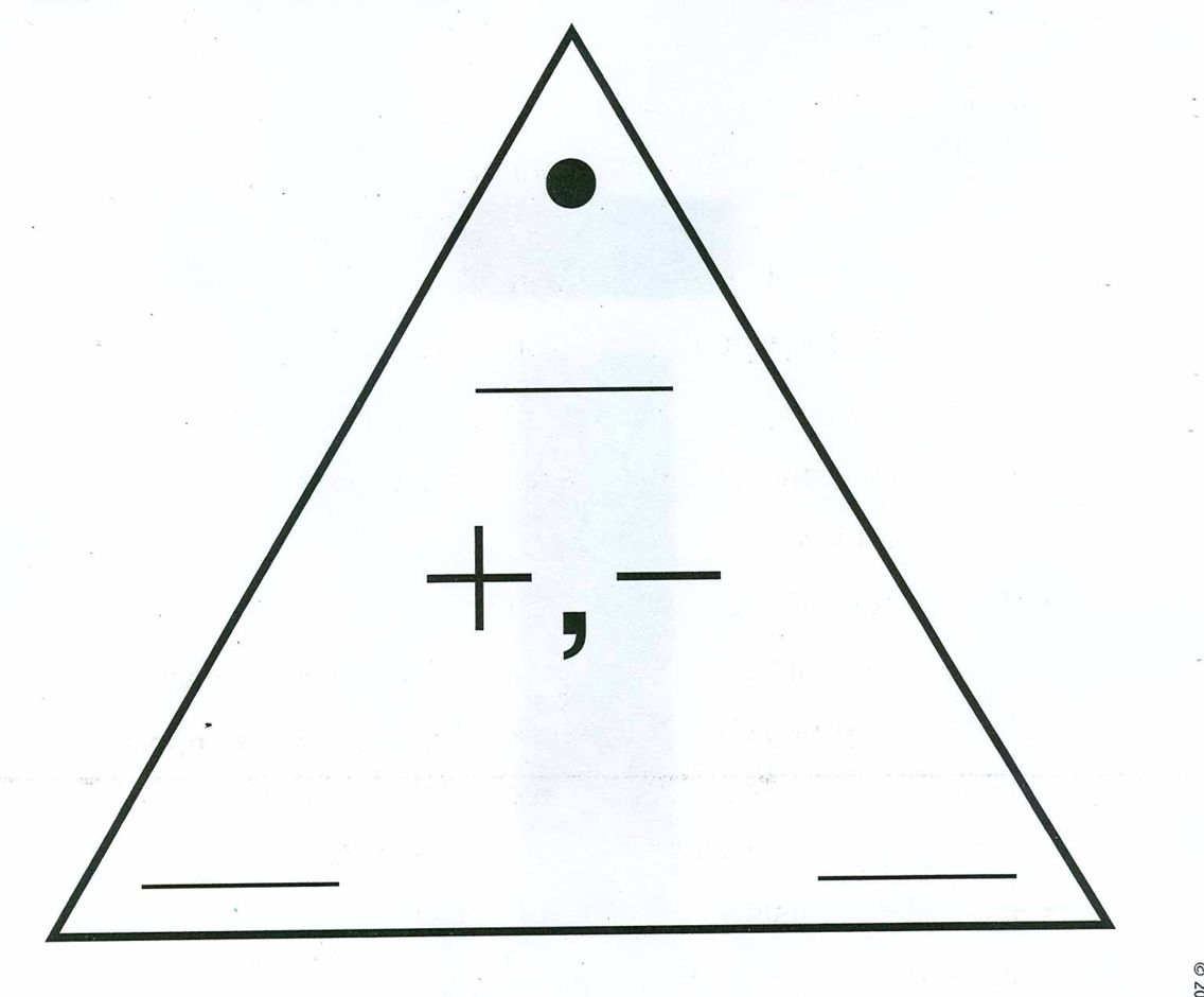 Blank Addition Subtraction Fact Triangle