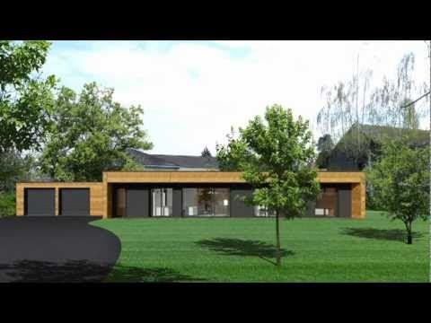 Maison bois à toit plat - Google zoeken huis Pinterest - maison bois en kit toit plat