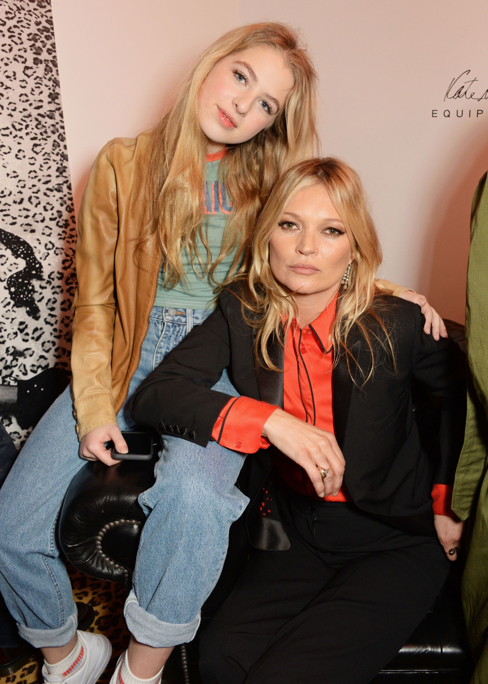 Anais Y Lili the week in parties | kate moss, anais gallagher, moss fashion