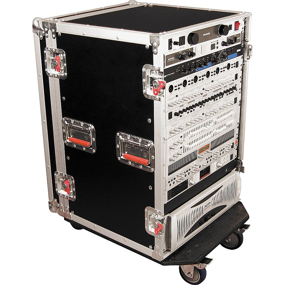 Gator G Tour Rack Road Case With Casters Road Cases G Tours Heavy Duty Caster