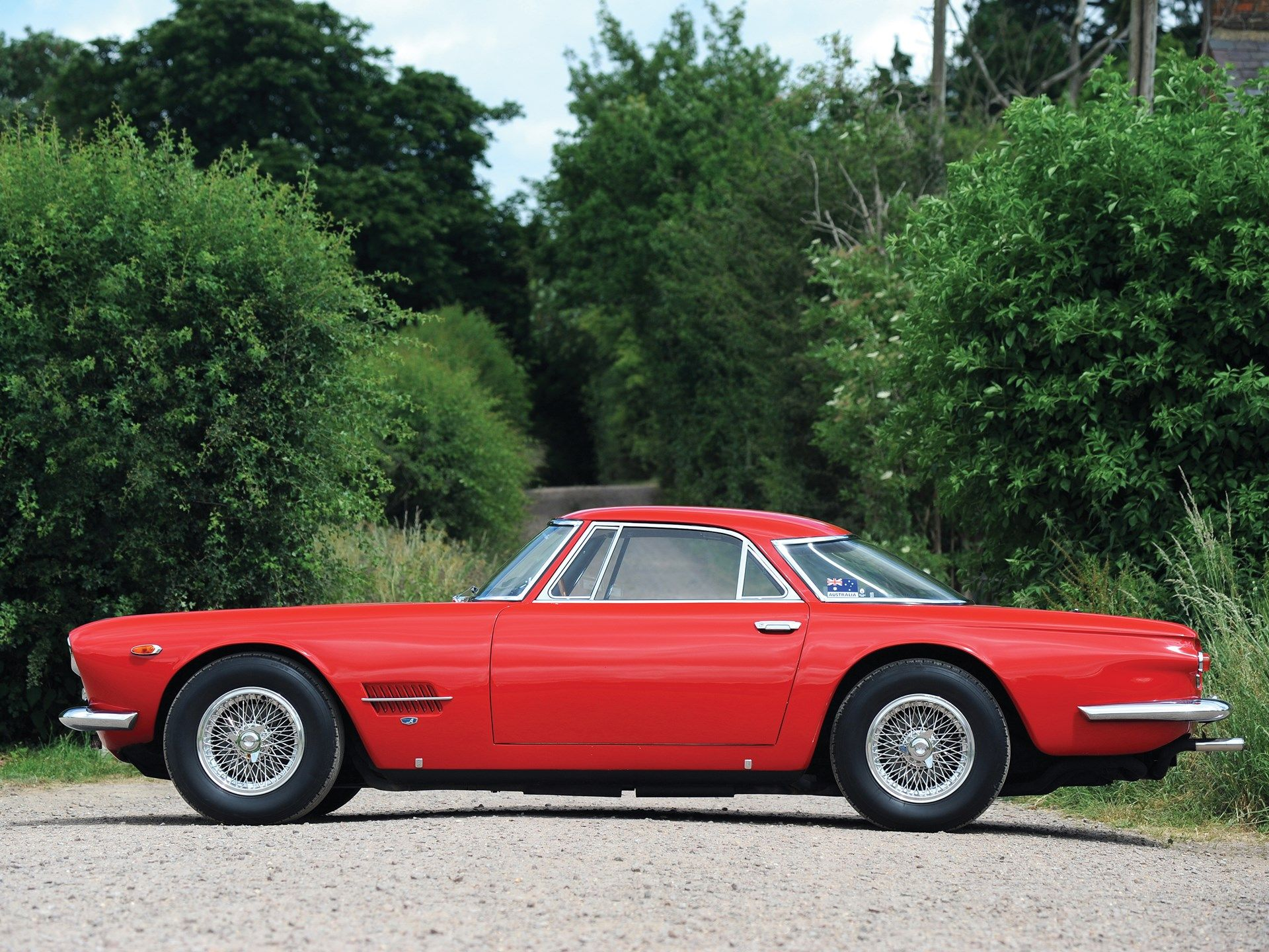 1962 Maserati 5000 Gt By Allemano Maserati Vintage Sports Cars