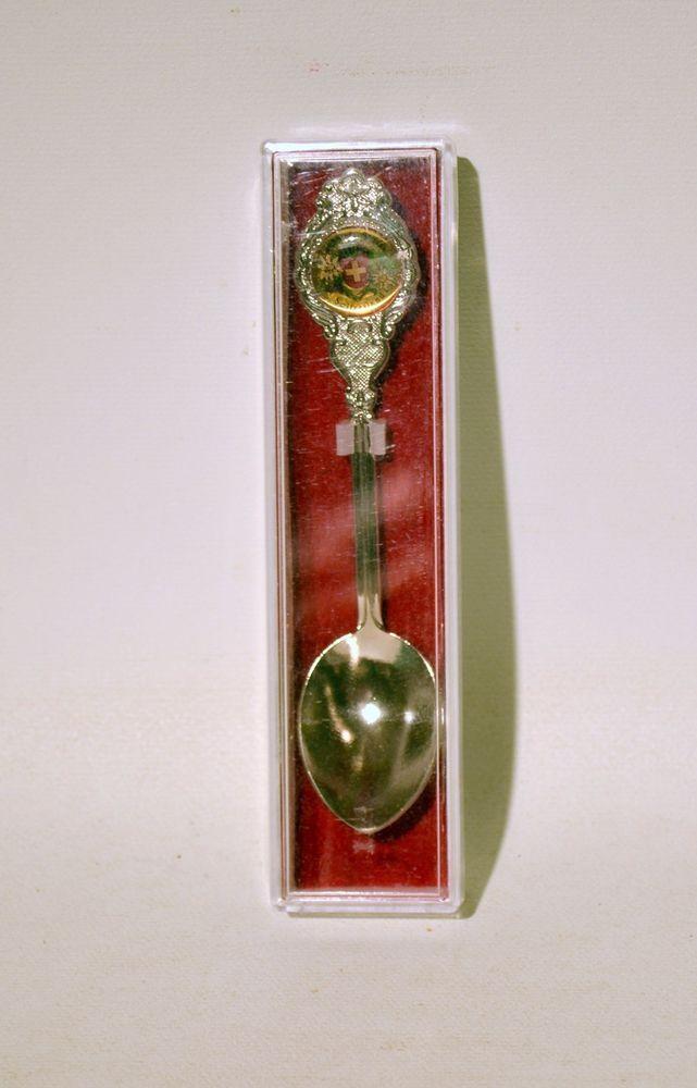 Collectible Spoon Souvenir Switzerland Suisse
