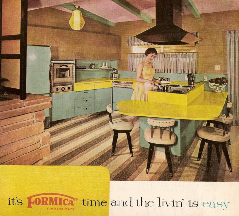 Best Mid Century Modern Freak — 1960 Formica Ad Better Homes 400 x 300