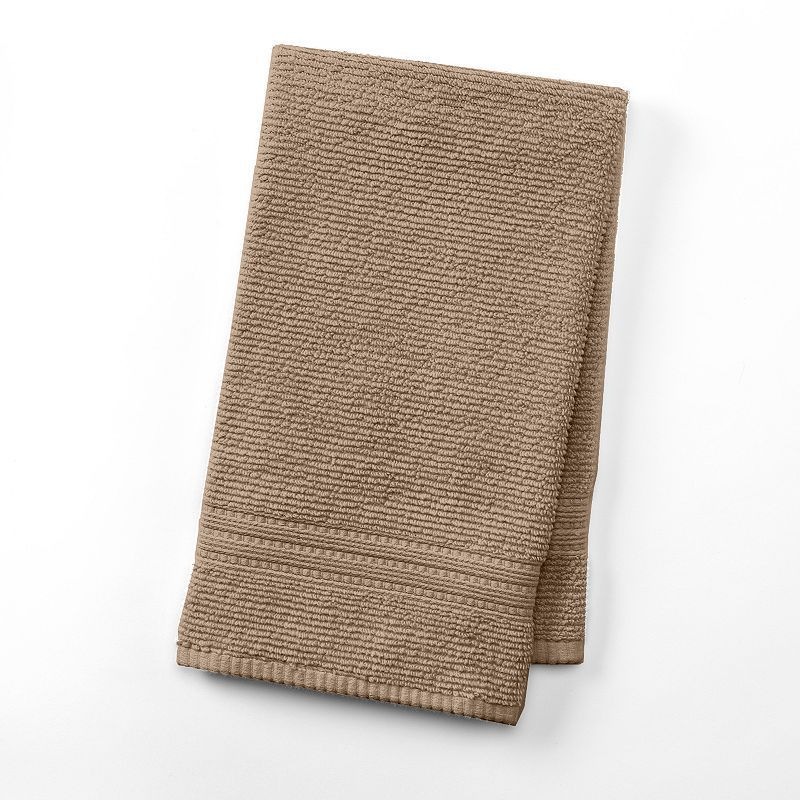 "SONOMA Goods for Lifeâ""¢ Quick-Dry Textured Hand Towel, Yellow ..."