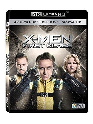 X Men First Class 4k Ultra Hd Blu Ray X Men Blu Blu Ray