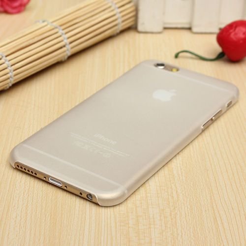 iPhone 6 Case Clear Ultra Slim Snap on case Firm Grip Matte Case Iron Armor