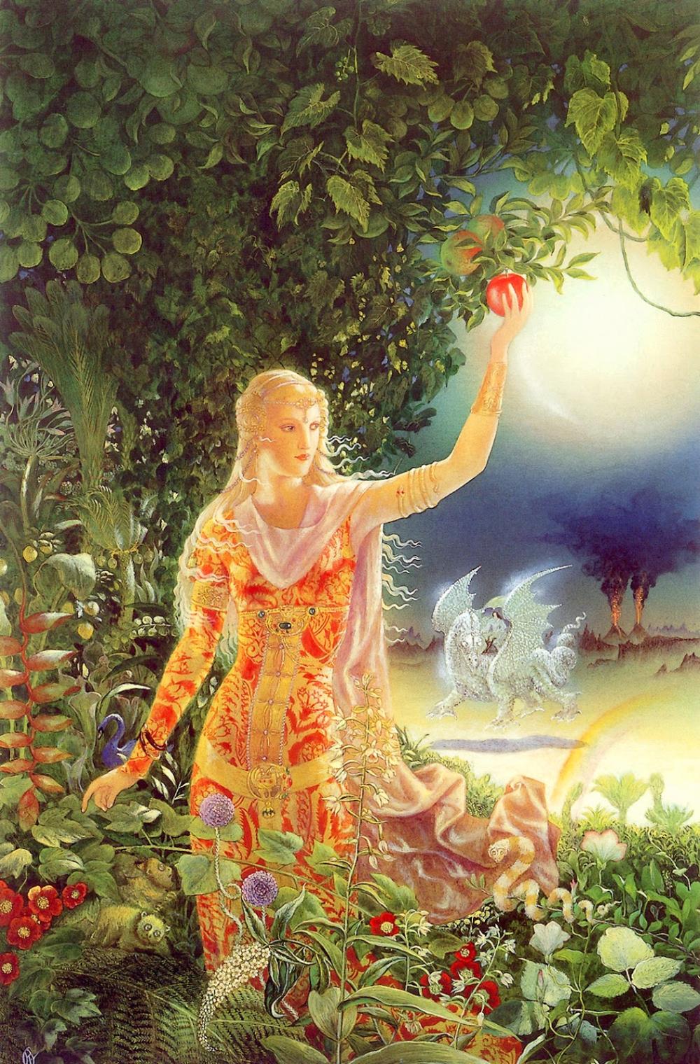 Kinuko Craft, 1940 in 2020 Art, Painting, Fairytale art