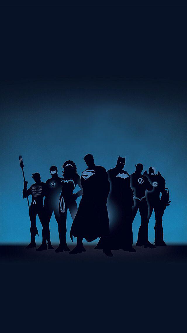 Justice League Heroes Wallpaper