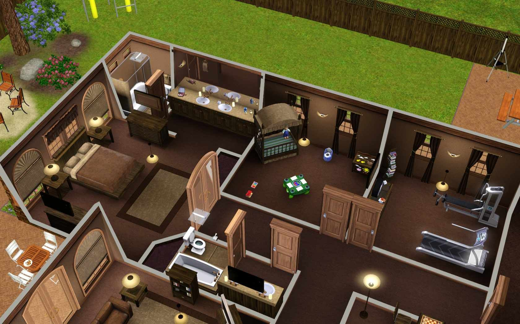 Get Ideas For Rooms In The Sims 3 And Its Expansions. This Page Lists Many  Types Of Room, And Gives Examples Of Good Design.