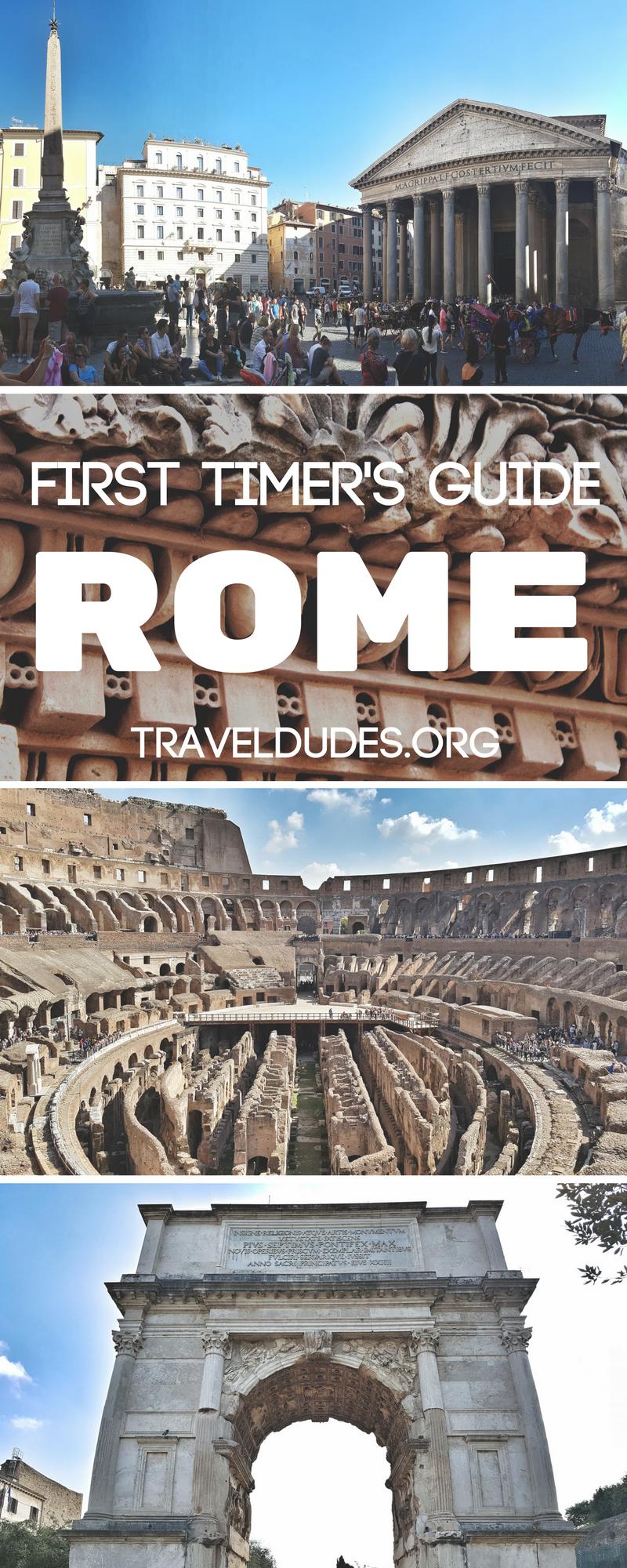 Admire Ancient Ruins at the Roman Forum