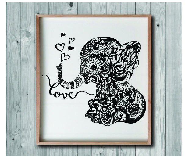 71+ Free Baby Elephant Mandala Svg Cut File – SVG Bundles