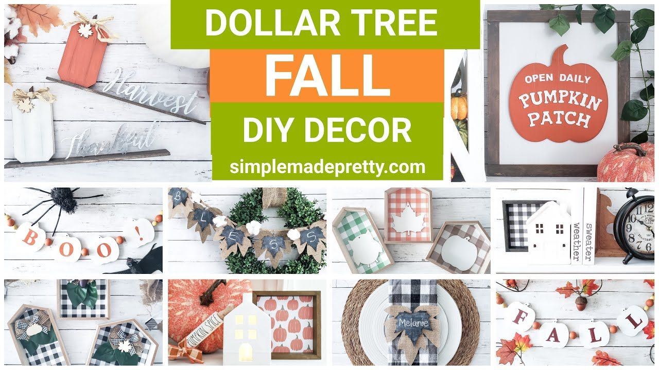 Dollar Tree Fall Home Decor Diy Projects Dollar Tree Fall Fall Decor Diy Fall Decor Diy Dollar Tree Fall Dollar Tree Diy