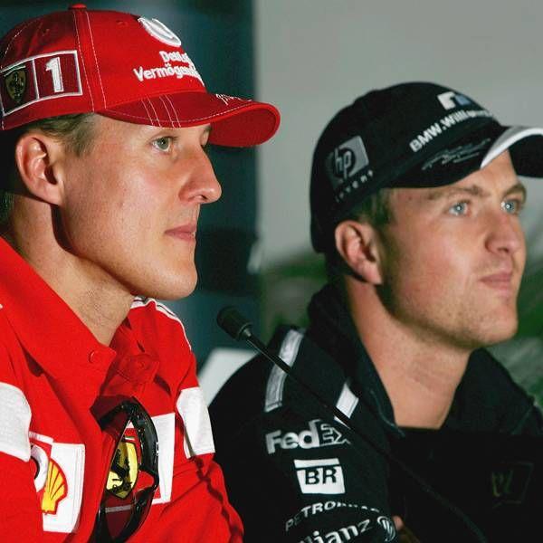 Micheal Ralph Schumacher Michael Schumacher Race Cars Ferrari F1