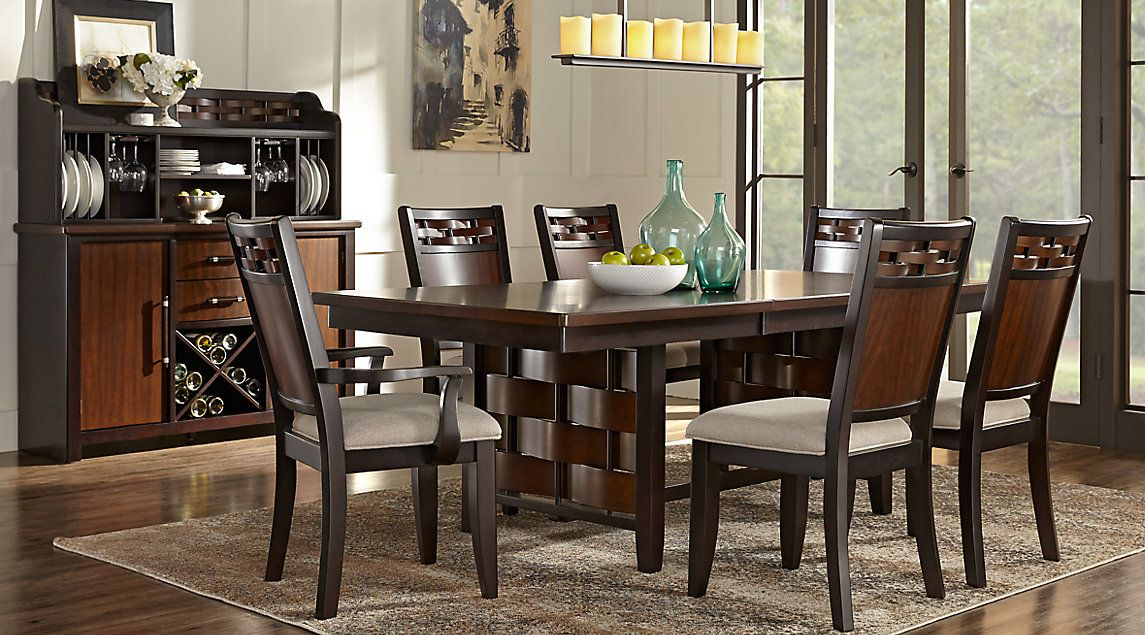 Affordable Standard Height Dining Room Sets Rooms To Go Furniture Dining Room Sets Dining Room Design Cherry Dining Room Sets