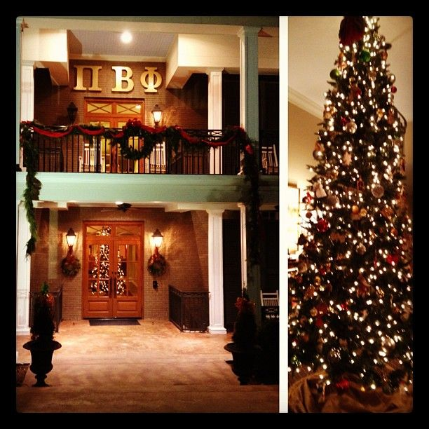 Pi Phi during Christmas #lovemyhomeawayfromhome | Three words ...