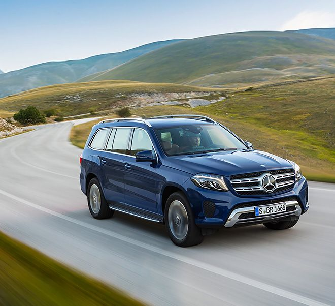 The New Mercedes-Benz GLS: The S-Class Among SUVs