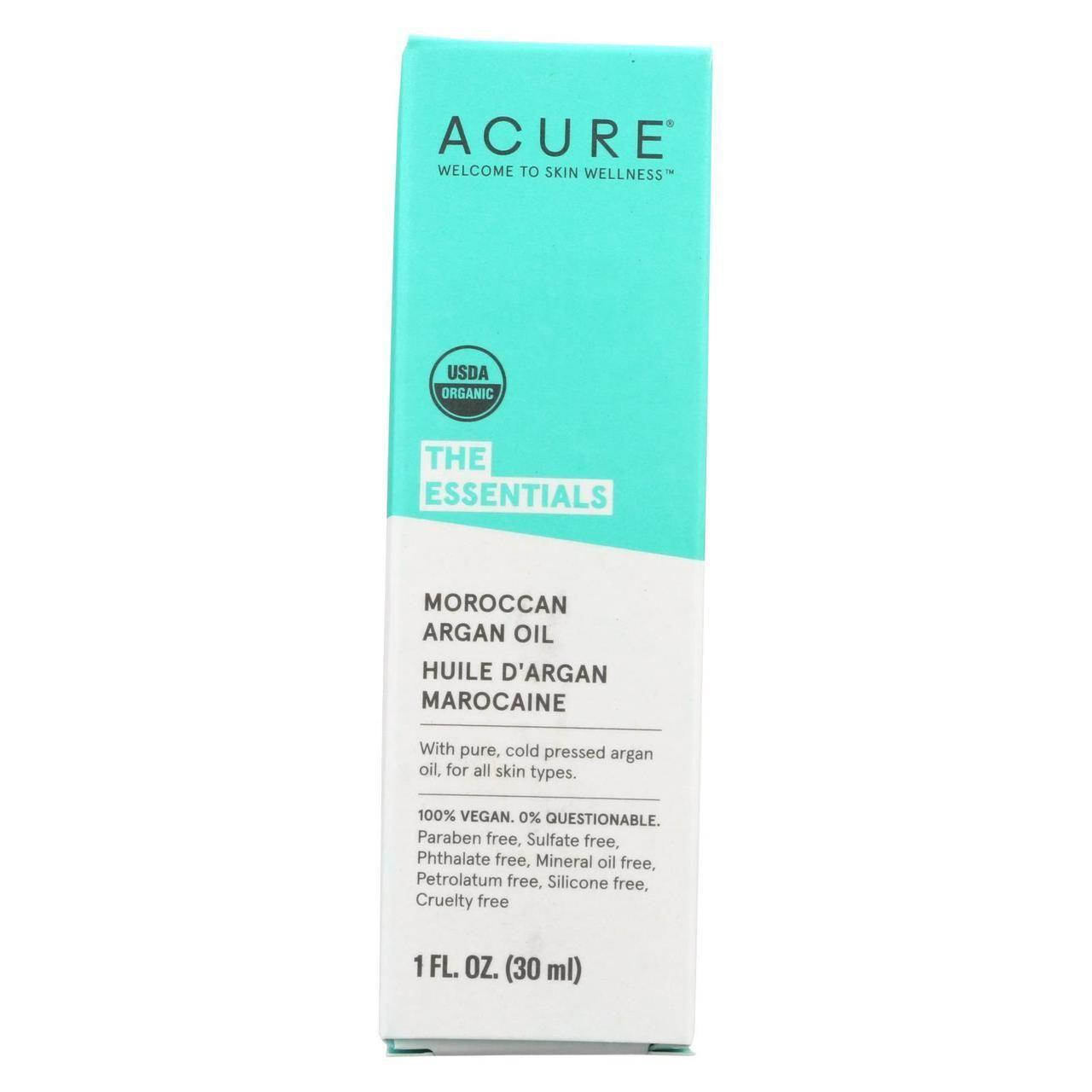 Acure, Moroccan Argan Oil, Oils