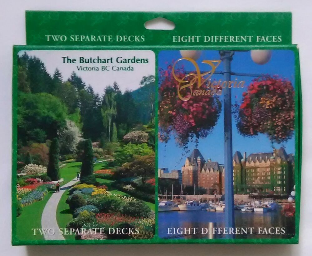 Butchart Gardens Victoria Canada BC 2x Single Deck Playing Cards EUC Complete #butchartgardens Butchart Gardens Victoria Canada BC 2x Single Deck Playing Cards EUC Complete #butchartgardens Butchart Gardens Victoria Canada BC 2x Single Deck Playing Cards EUC Complete #butchartgardens Butchart Gardens Victoria Canada BC 2x Single Deck Playing Cards EUC Complete #butchartgardens
