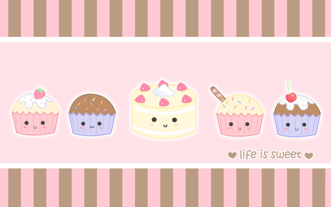 Sweet Cupcakes Cupcakes Wallpaper Cute Wallpapers Quotes Cartoon Cupcakes