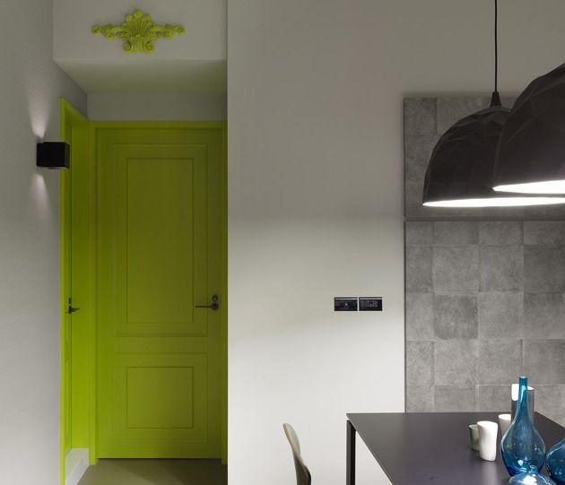 #Wohnungen Eine Kleine Wohnung Bekommt Eine Moderne Verjüngungskur Von  Ganna #garten #neu #