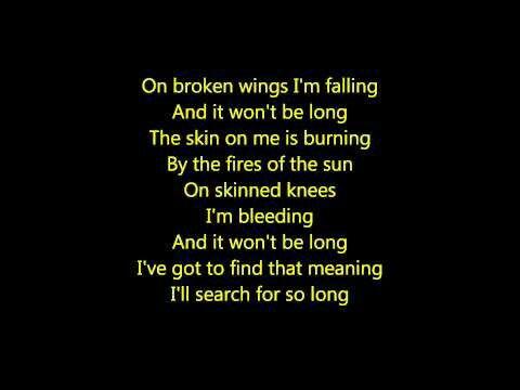 Broken Wings By Alter Bridge With Images Wings Lyrics
