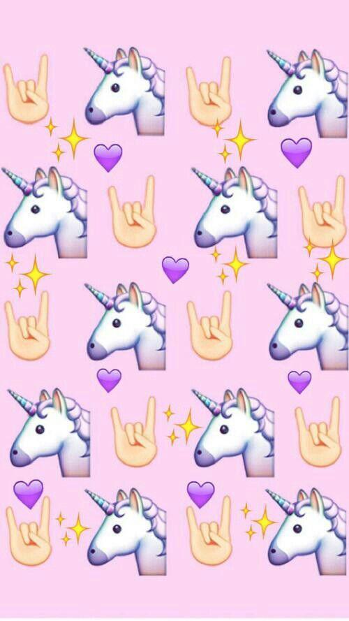 Emoji Iphone Fond Decran Licorne
