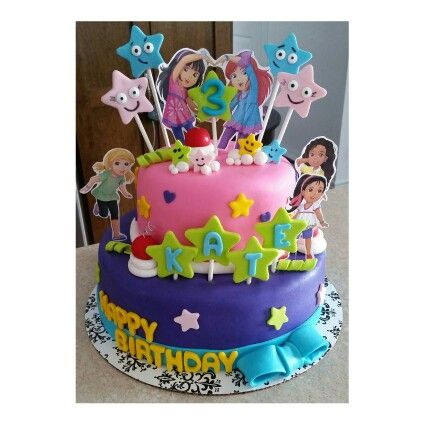 Dora And Friends Cake With Images Dora And Friends 4th